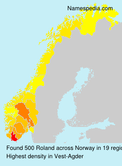 Surname Roland in Norway