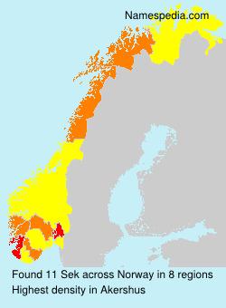 Sek - Norway