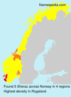 Surname Sheraz in Norway