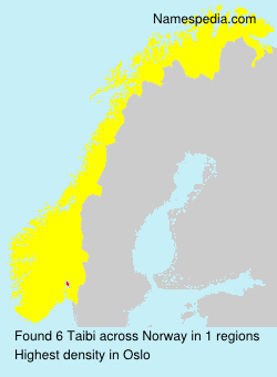 Surname Taibi in Norway