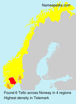 Surname Tello in Norway