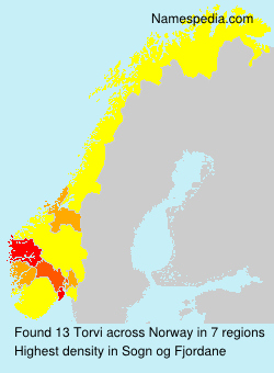 Surname Torvi in Norway