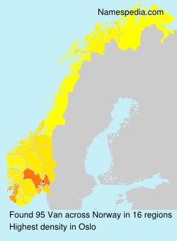 Van - Norway