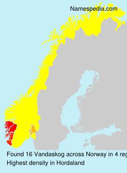 Vandaskog