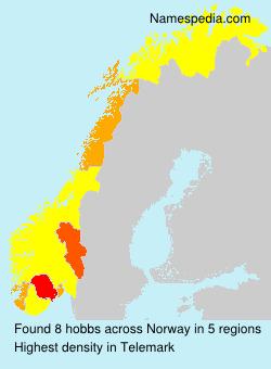 Familiennamen hobbs - Norway