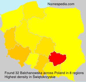 Balchanowska