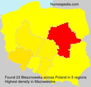 Blesznowska