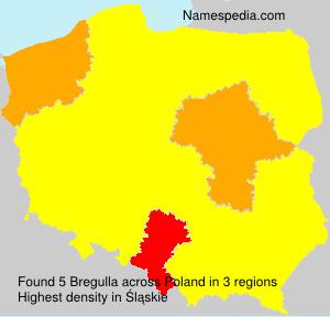 Surname Bregulla in Poland