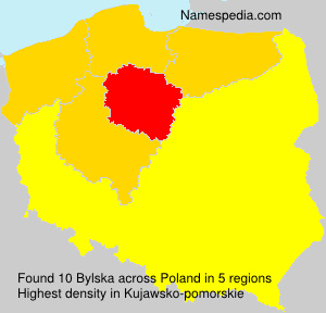 Surname Bylska in Poland