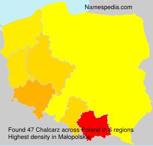 Surname Chalcarz in Poland