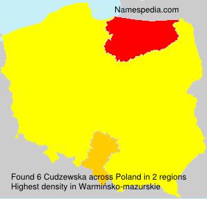 Cudzewska