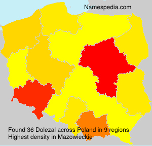 Surname Dolezal in Poland