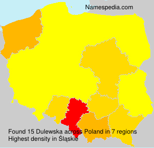 Surname Dulewska in Poland