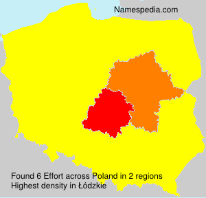 Surname Effort in Poland