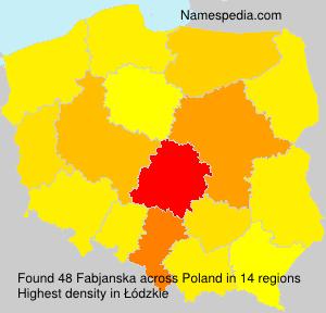 Fabjanska