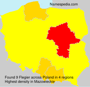 Surname Flegier in Poland