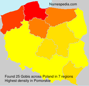 Surname Gobis in Poland