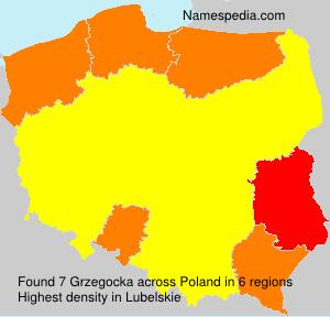 Surname Grzegocka in Poland