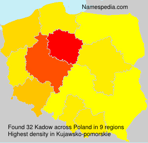 Surname Kadow in Poland