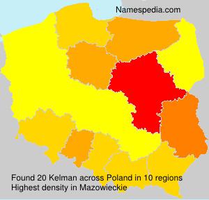 Surname Kelman in Poland