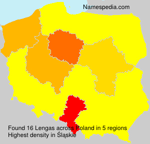 Surname Lengas in Poland