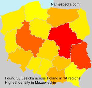 Lesicka