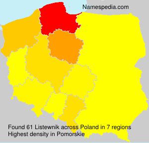 Listewnik