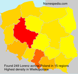 Surname Lorenz in Poland