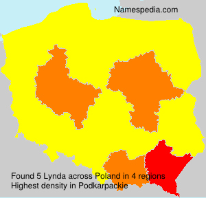 Surname Lynda in Poland