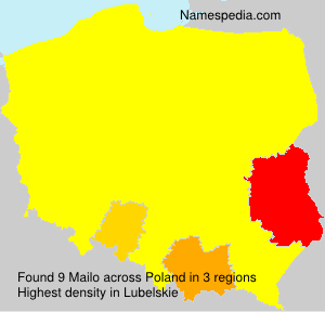 Surname Mailo in Poland