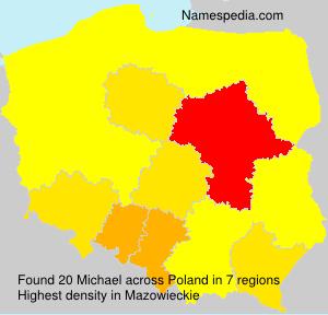 Familiennamen Michael - Poland