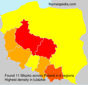 Surname Miszko in Poland
