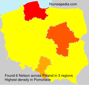 Surname Nelson in Poland