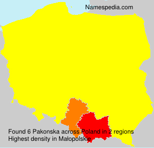 Pakonska