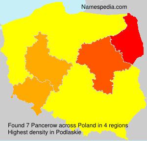 Pancerow