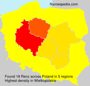 Surname Renz in Poland