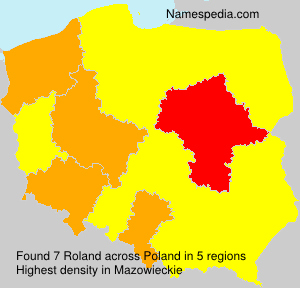 Surname Roland in Poland