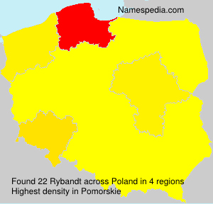 Surname Rybandt in Poland