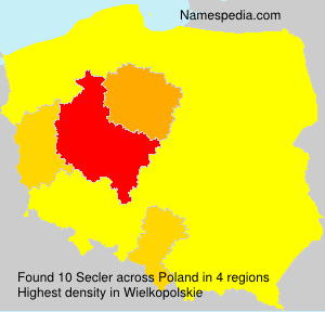 Surname Secler in Poland