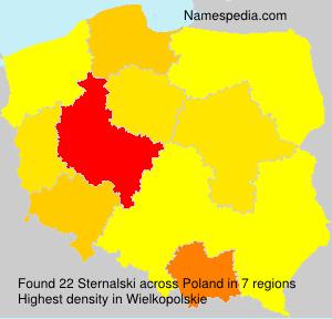 Familiennamen Sternalski - Poland