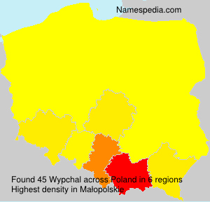 Surname Wypchal in Poland