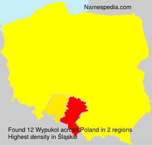 Surname Wypukol in Poland