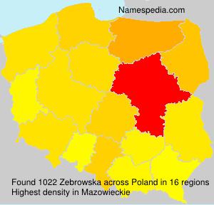 Zebrowska