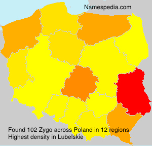 Surname Zygo in Poland