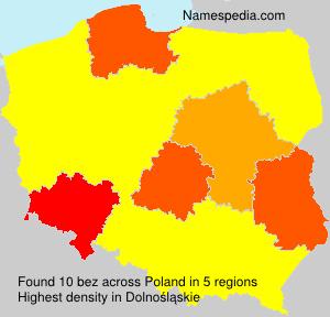 Familiennamen bez - Poland