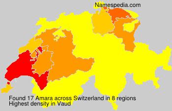 Surname Amara in Switzerland