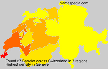 Barrelet - Switzerland