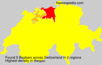 Familiennamen Baybars - Switzerland