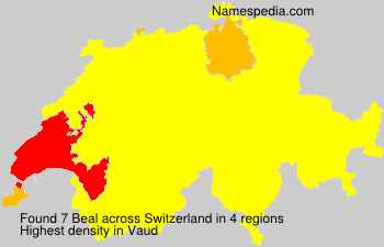 Surname Beal in Switzerland