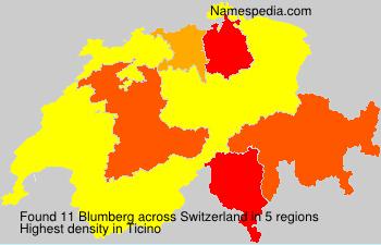 Familiennamen Blumberg - Switzerland